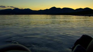 Sunset Lake Shore