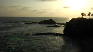 Sunset Ocean Scene