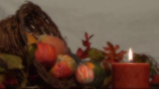 Thanksgiving Candle 2