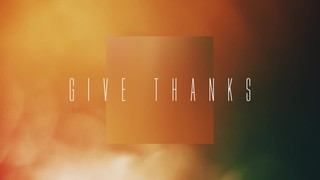 Thanksgiving Flares Give Thanks