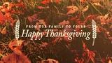 Thanksgiving Light Family