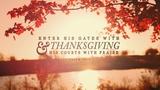 Thanksgiving Light Psalm