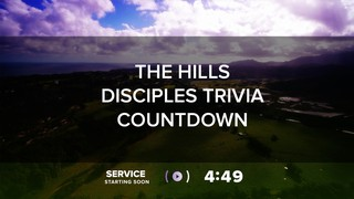 The Hills Disciples Trivia Countdown