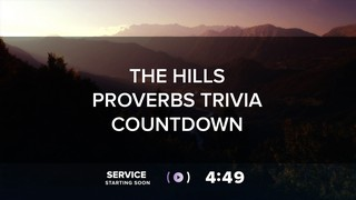The Hills Proverbs Trivia Countdown