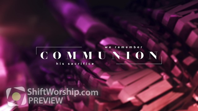 Preview of The Works Communion