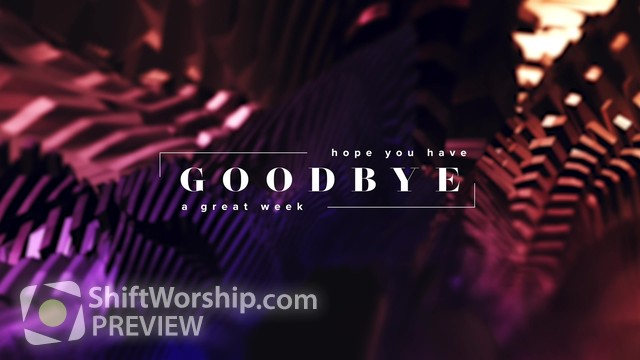 Preview of The Works Goodbye