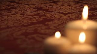 Three Blurry Candles