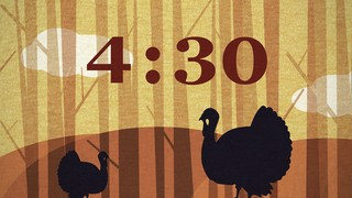 Turkey Day Countdown