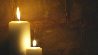 Two Brick Candles