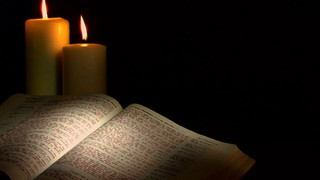 Two Candles Bible