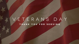 Veterans Day Thanks
