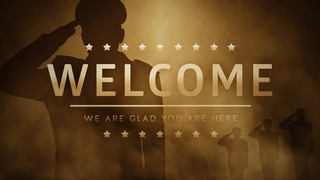Veterans Salute Welcome