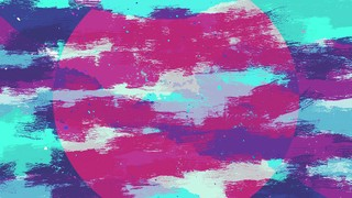Vibrant Strokes Blue Alt