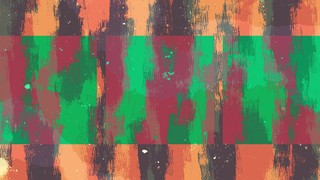 Vibrant Strokes Orange Alt