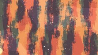Vibrant Strokes Orange