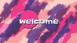 Vibrant Strokes Welcome