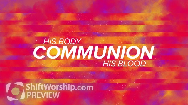 Preview of Water Colors Communion