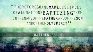 Water Drops Matthew 28