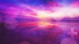 Watercolor Cross Sunrise