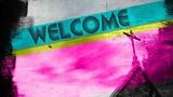 Welcome Steeple Grunge