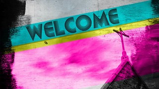 Welcome Steeple Grunge