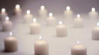 White Candles On White