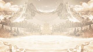 Winter Wonderland Mountains