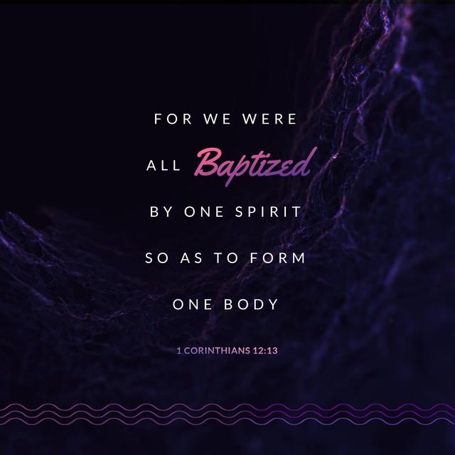 1 Corinthians 12:13 Social