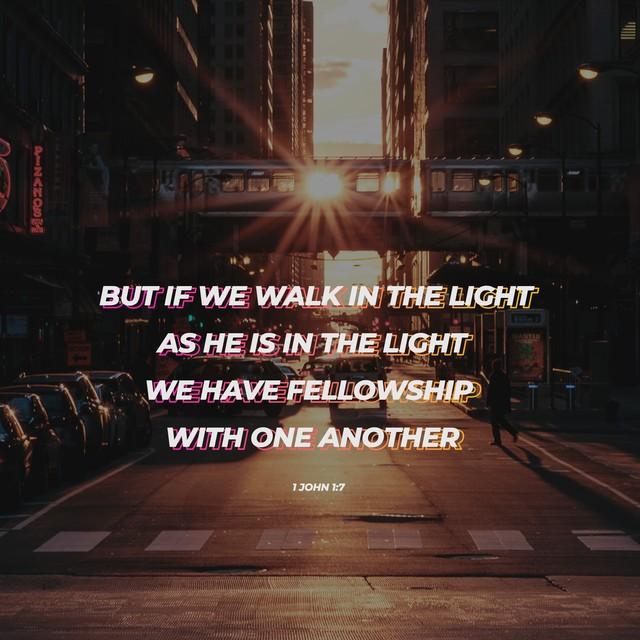 1 John 1:7 Social