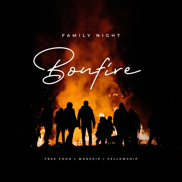 Family Night Bonfire