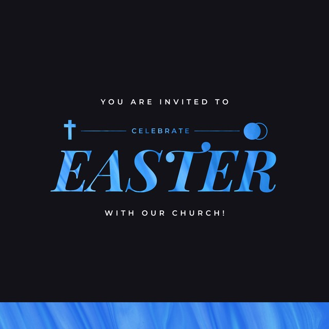 Easter You Are Invited Social