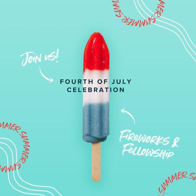 July 4 Popsicle Social