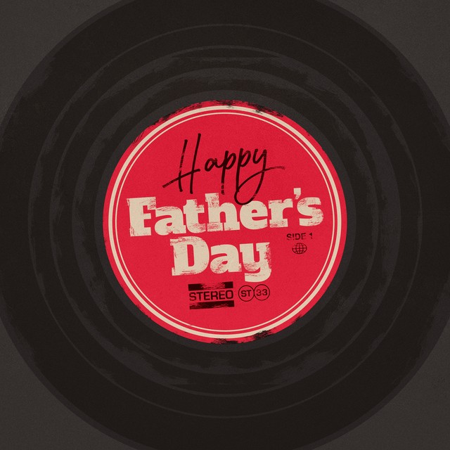 Fathers Day Record Square