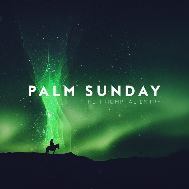 Holy Week Glow Palm