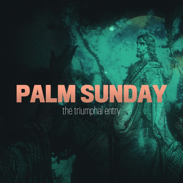Holy Week Art Palm Sunday Social