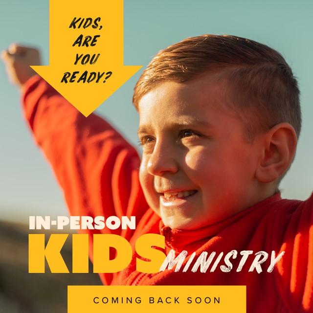 Kids Min Coming Back