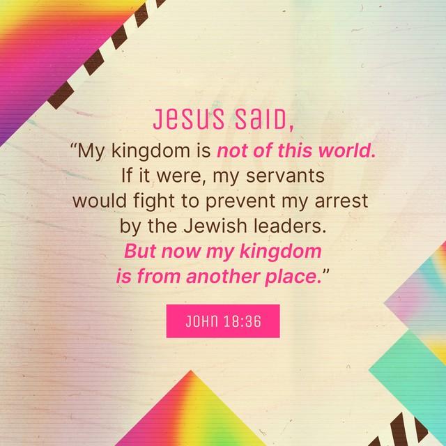 John 18:36