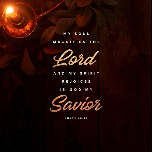 Luke 1:46-47