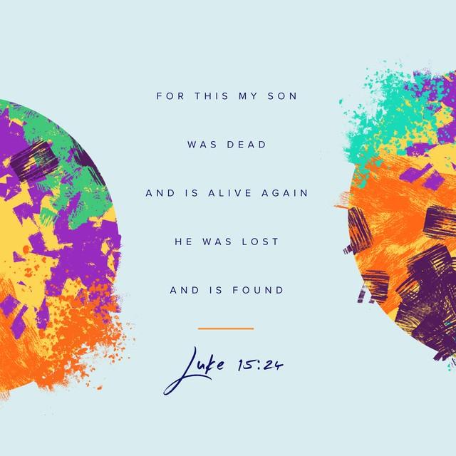Luke 15 24