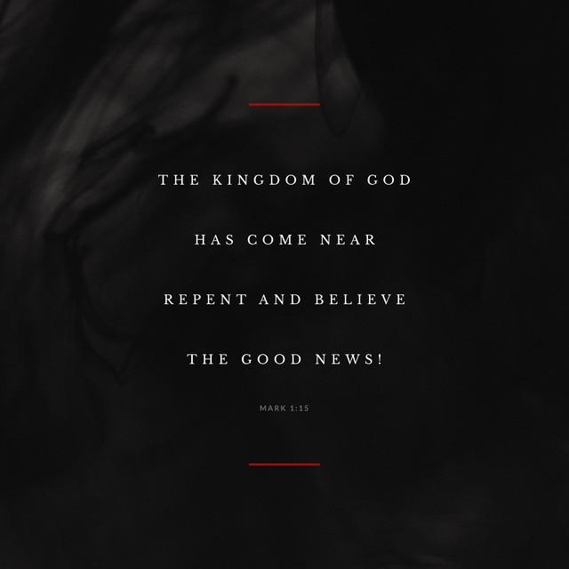 Mark 1:15 Social