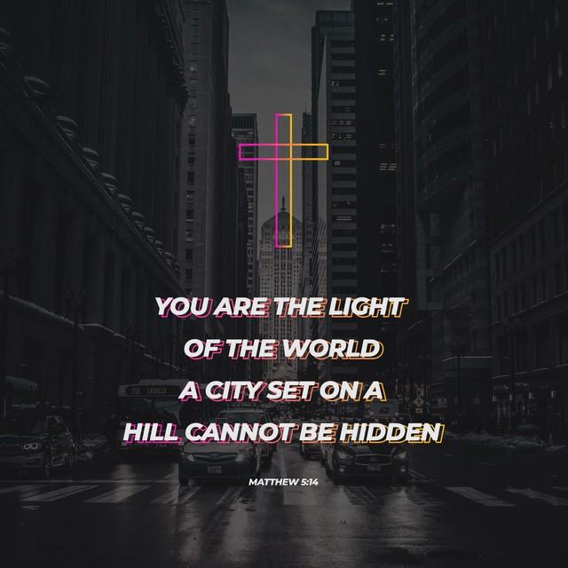 Matthew 5:14 Social