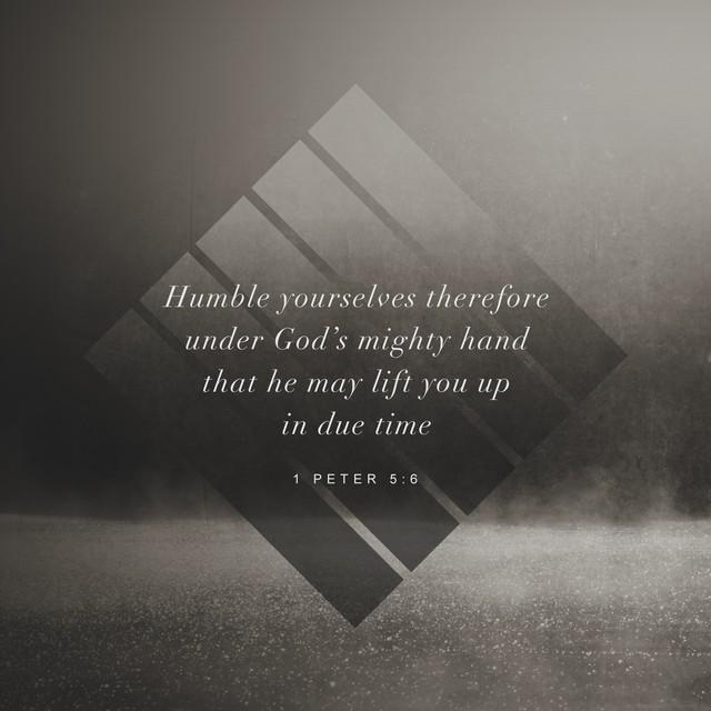 1 Peter 5:6
