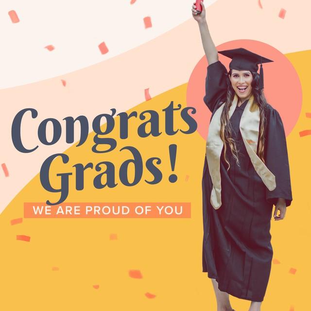 Congrats Grads Confetti