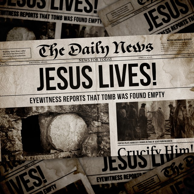 Jesus Lives Newspaper