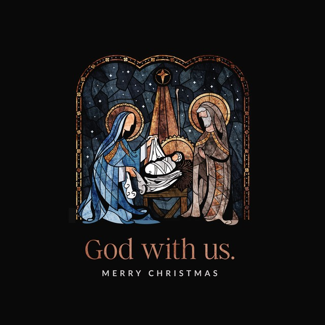 God With Us Merry Christmas