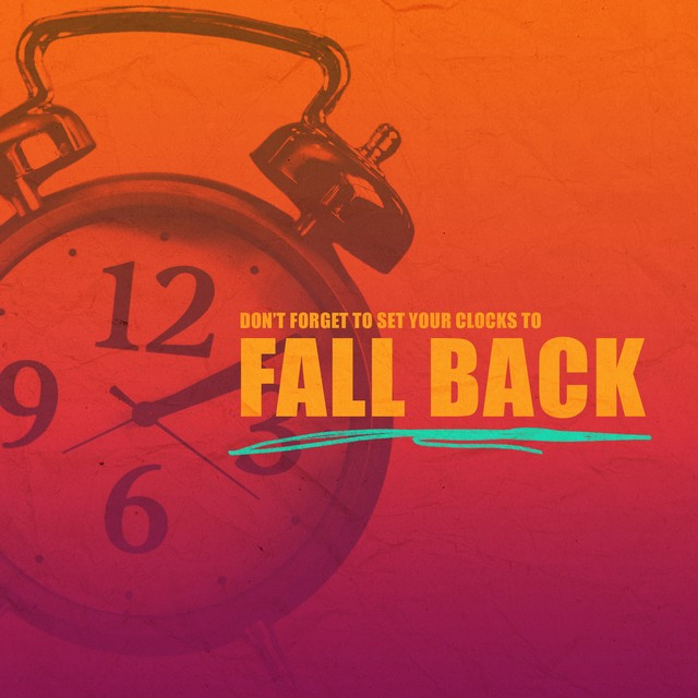 Fall Back Reminder