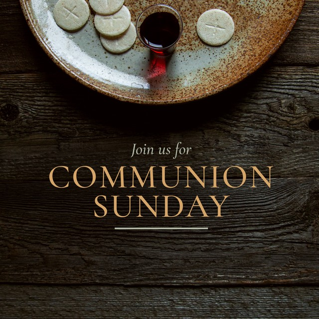 Communion Sunday Join