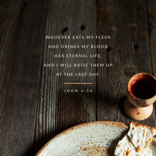 John 6:54