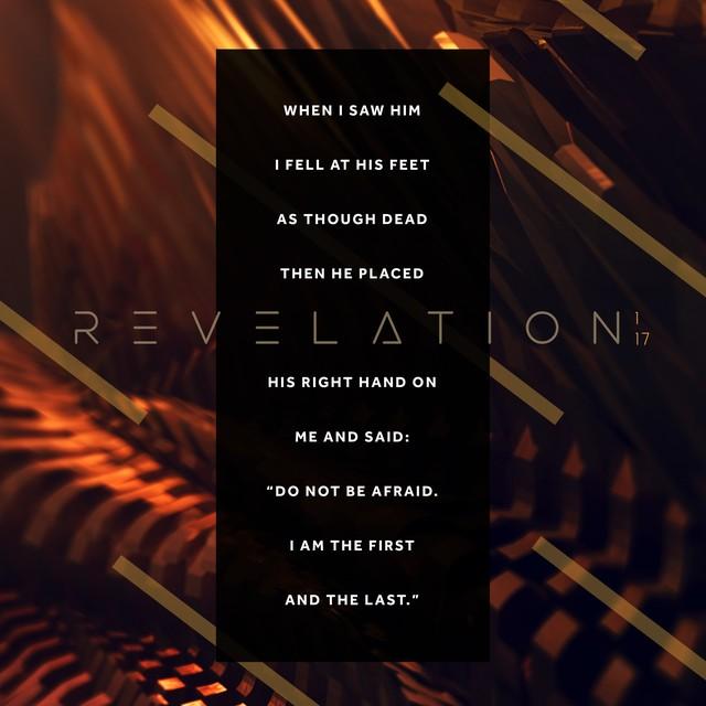Revelation 1:17