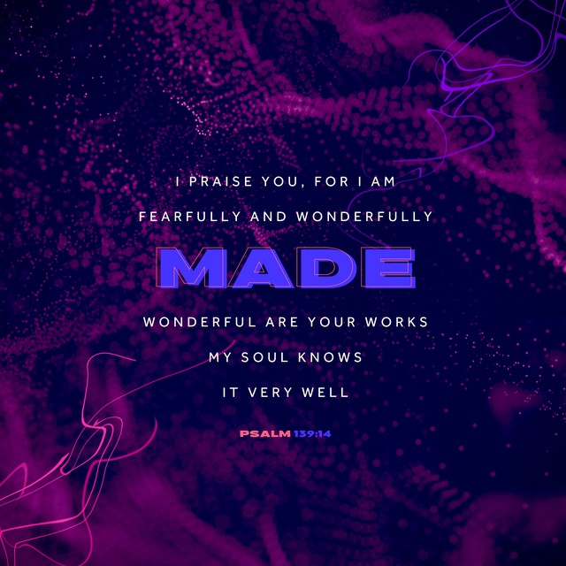 Psalm 139:14 DNA